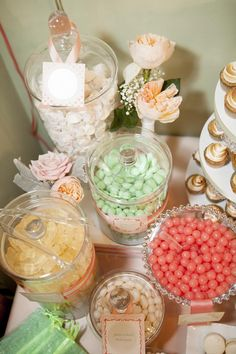 girl  baby shower ideas | Shabby Chic Baby Shower via KarasPartyIdeas.com #BabyShower # ...