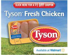 $1 off Fresh Chicken