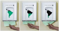 WWF paper dispenser