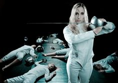 Mariel Zagunis has won every award there is to win in fencing. She's a 2-time Olympic gold medalist and a 2-time world championship gold medalist in sabre fencing. She's an NCAA champion, a Cadet World champion and a Senior World Cup champion.