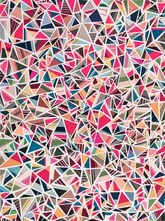 triangle explosion: could I turn this into a quilt?