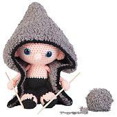 amigurumi doll, crochet toy