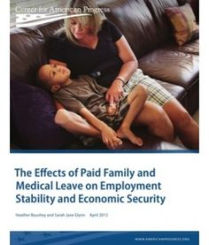 More and more workers need time off to care for a loved one. Paid family and medical leave would be of particular benefit to single mothers, who are more likely to be lower income and who do not have a spouse to take over caregiving responsibilities. A recent report from Center for American Progress by Heather Boushey and Sarah Jane Glynn: http://www.americanprogress.org/issues/2012/04/paid_family_leave.html