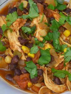 Pin now and save for when you want delicious chili!  Skinny Mom's, best crock pot chili recipes!