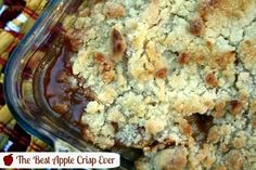 Mommy's Kitchen - Old Fashioned & Country Style Cooking: The Best Apple Crisp Ever {Featuring Pinata Apples}
