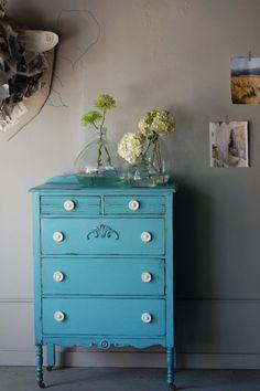 more blue furniture :)