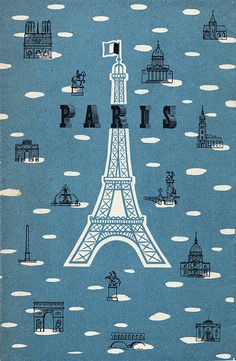 Paris for Americans by Calsidyrose, via Flickr
