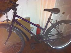 """This bike has been in the family for years, and no one uses it so my mum was going to throw it out. I replaced its wheels, oiled and cleaned it up and now I use to it cycle to university. In consequence saving my carbon footprint and the bike!"""