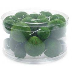 """Green Moss Garland 70"""" Length (6')"""