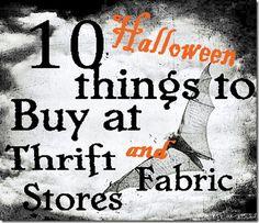 halloween decorations, 10 halloween, halloween thing, fabric stores, decorating ideas, halloween party decor, thrift store, halloween ideas, old books