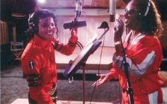 Michael Jackson & Stevie Wonder