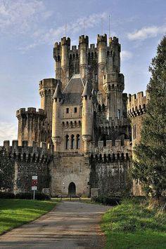 Castillo de Butrón Gatika Country, Spain