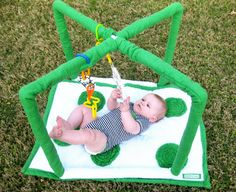 Baby Play Mat With PVC by hillsroe on Etsy, $45.00
