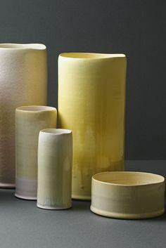 Eric Landon and Karin Blach Nielsen; Glazed Ceramic Vessels for Tortus Copenhagen Ceramics, 2013.