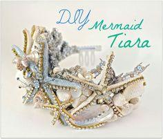 DIY Mermaid Halloween Costume-For Hawaii-Mermaid things..