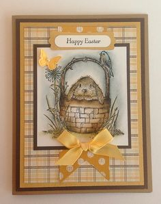 Happy Easter! (Stampin' Up!)