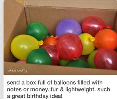 Fun for nieces and nephews birthdays!