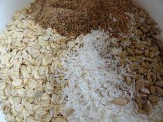 Granola ingrediants