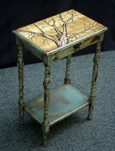 The Braindead Aesthetic: Upcycled Furniture - lovely!