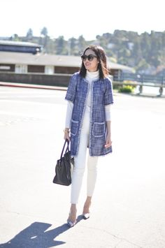 Short-Sleeved Jacket - 9to5Chic