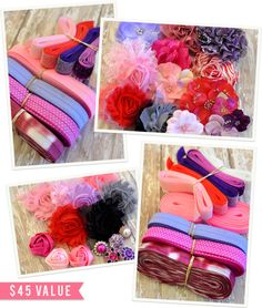Peacoats and Plaid: #ACraftersDream Giveaway: Fleuriste Supplies