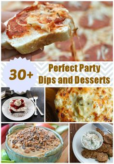 Over 30 recipes for Perfect Party Dips and Desserts | alidaskitchen  #HolidayHelper