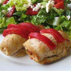 Feta and Sun-Dried Tomato Stuffed Chicken Allrecipes.com