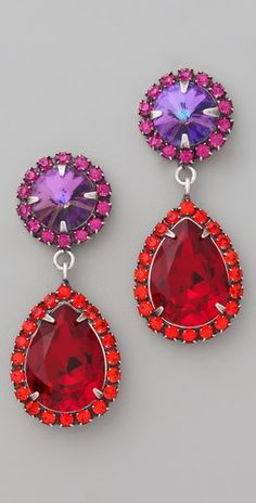 I love red and purple together