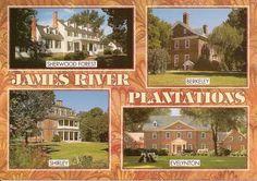 James River Plantations in Virginia