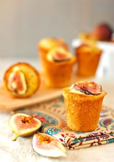 Fig and Orange Honey Mini Cakes