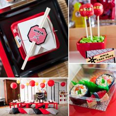 Like the Chinese take out boxes ninja parti, ninja party, lego ninjago, ninjago birthday, kid birthdays, bday parti, kid birthday parties, parti idea, ninjago parti