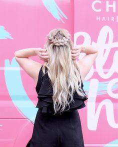 Pretty braided half-