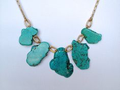 Large Statement Necklace by Hibiscus03 on Etsy, $50.00