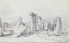 Stonehenge, John Constable, 1820
