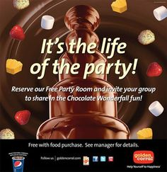 Golden Corral Free Party Room