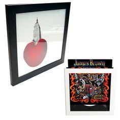 Flip display for vinyl LP album