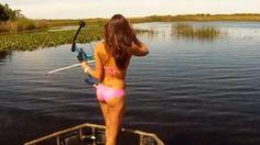 bikini bowfishing