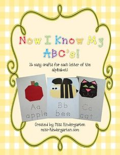 Introducing the easiest crafts you will ever make!There are no templates for these crafts! Each craft has a list of materials and dimensions....