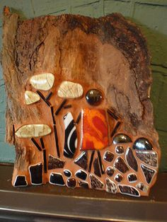 African art on wood