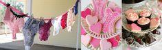 Este chá de lingerie foi um dos que mais gostei, bem estilo pin-up! Uma gracinha as bolachinhas decoradas de espartilho… E as fotinhos das pin-ups decorando as mesas ficou super original, confiram! Fotos: Glorious Treats Gostaram? Comentem, compartilhem, curtam nossa página no Face! Tweet