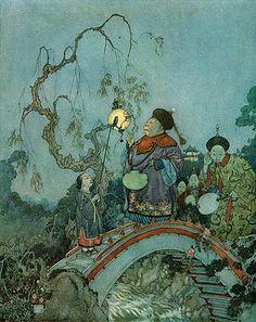 Edmund Dulac - the world's best fairy tale illustrator