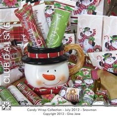 Christmas candy bar wrappers, printables for Hershey, Kit Kat, Rolos, Snickers, Ghirardelli Squares, Popcorn Wrappers, and more!  Make adorable gifts, stocking stuffers, Christmas Gift Ideas... by Gina Jane