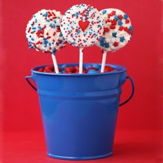 No Bake Red White And Blue Treat Ideas