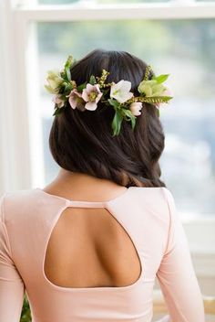 pretty flower crown