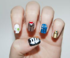 Dr. Who nails ♥
