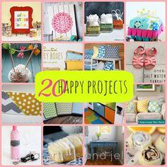 20 Happy Projects - Tatertots and Jello