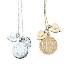 a little bit of everything.. Sonya Layered Charm Necklace | Mark and Graham