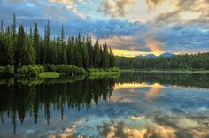 Photo of the Day: Lion Lake, near Hungry Horse. Montana