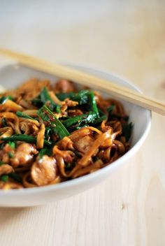 Basic fried noodles. Always, looking for a good noodle recipe.