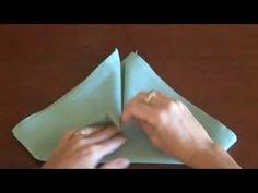 Napkin Folding - Bishops Hat